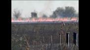 Пожар край старозагорското село Ястребово