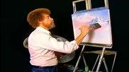 S05 Радостта на живописта с Bob Ross E11 - есенно великолепие ღобучение в рисуване, живописღ