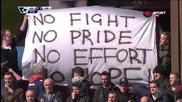 Интересен банер от феновете на Астън Вила