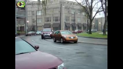 Ето така се изпреварват коли!