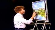 S06 Радостта на живописта с Bob Ross E02 - вътрешна природа ღобучение в рисуване, живописღ