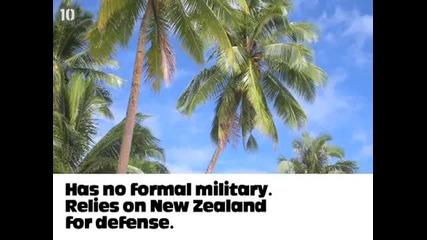 10 страни без армия