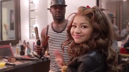 Behind The Scenes with Zendaya at her X Out Commercial Shoot