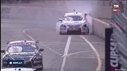 V8 Supercars Adelaide 2015 Race 2 Caruso Big Crash