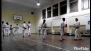 Будошин (карате шотокан) спаринг 2 видео
