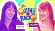 Soy Luna 3 - Лице в лице - Катя и Хасмин + Превод