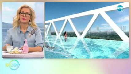Поредното чудо на Дубай: Най-високият инфинити басейн - На кафе (05.05.2021)