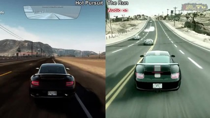 Need for Speed Hot Pursuit vs Need for Speed The Run