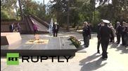 Русия: Британски ветеран от втората световна война посети Крим