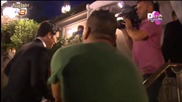 Çağatay Ulusoy at Engin Altan Düzyatans wedding - tv8 Reportaz 31.08.2014