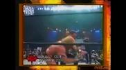Chris Benoit Говори За Контузията Си - Wwf Heat 07.10.2001
