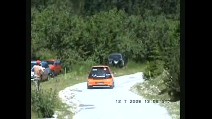 Рали България 2008 - Кадри От Трите Дни