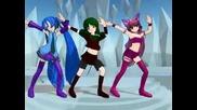 Love & Joy - Mew Zakuro, Kisshu y Miku Azul