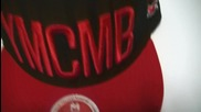 Ymcmb шапка (snapback) Black and Red