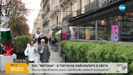Как бул. Витоша се нареди до Шанз-Елизе в класация за най-скъпи улици?