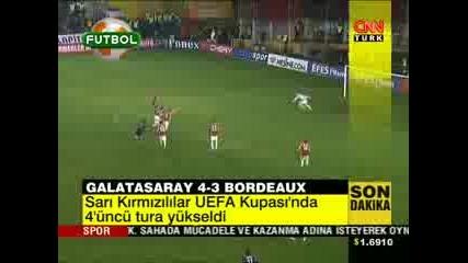 Galatasaray - Bordo 4 - 3