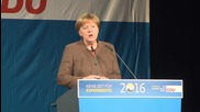 Germany: Merkel and Haseloff rally CDU supporters ahead of Saxony-Anhalt elections