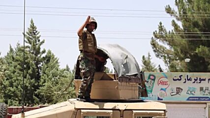 Afghanistan: Afghan army troops battle to push Taliban out of Herat
