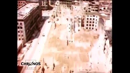 Разрухата от войната в Берлин,през птичи поглед 1945