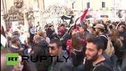 Italy: Thousands rally against NATO's Trident Juncture drills in Naples