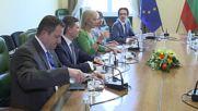 Борисов и еврокомисар Биенковска обсъдиха единния пазар