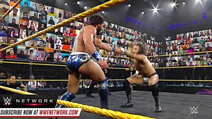 August Grey vs. Tony Nese: 205 Live, Feb. 26, 2021