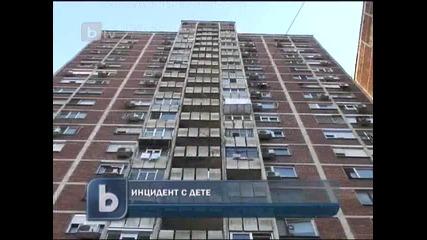 Ученик ударен тежко с буркан, хвърлен от балкон