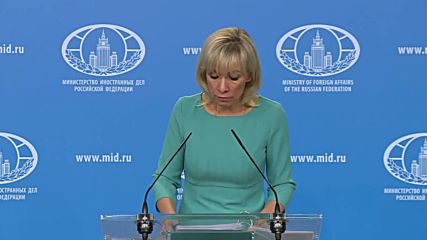Russia: Zakharova slams 'wild' accusations against Russian biathletes in Austria