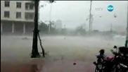 Moщно торнадо премина през Южен Китай