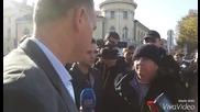 Кадиев пред протеста на МВР