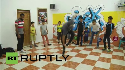 State of Palestine: See Gazan breakdancers throw shapes 1 year on from Israeli attack
