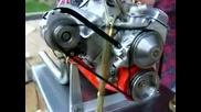 Worlds Smallest Running Chevy V - 8