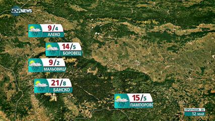 Прогноза за времето на NOVA NEWS (12.05.2021 - 14:00)