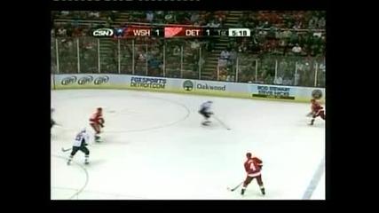 """""""Детройт"""" спечели с 3:2 домакинството си на """"Вашингтон"""" в НХЛ"""