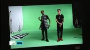 Зад кулисите на снимачната площадка към видеота на Wait for a minute - Justin Bieber ft Tyga
