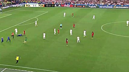 30.06.16 Полша - Португалия 3:5 1:1 след дузпи * Евро 2016 *