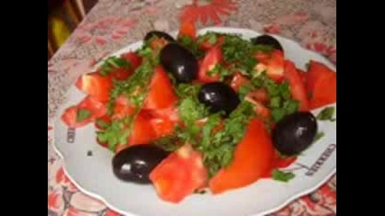 kiuchek salata i rakiia