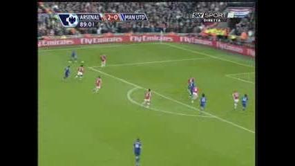 08.11 Арсенал - Манчестър Юнайтед 2:1 Рафаел гол