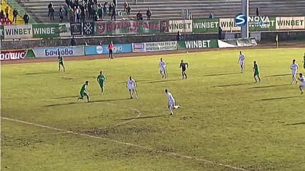 Емил Стоев вкара втория гол за Славия срещу Ботев Вр