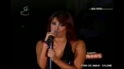 Dulce Maria - Te daria todo live