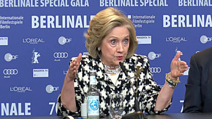 Germany: Putin 'wanted to defeat me' says Clinton at Berlinale 'Hillary' screening