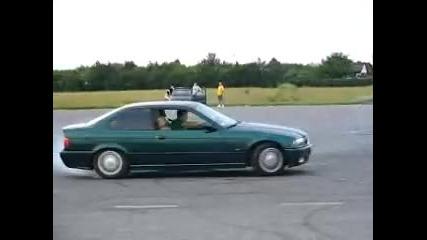 Bmw e36 320i Coupe - Drifting