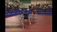 Timo Boll vs Hou Yingchao