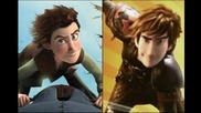 скици: Как да си дресираш дракон 2 (2014) How to Train Your Dragon 2 art story board pictures