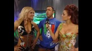 Backstage, Maria Is With Santino And Beth