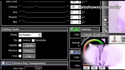 Proshow Producer // Coloring 7