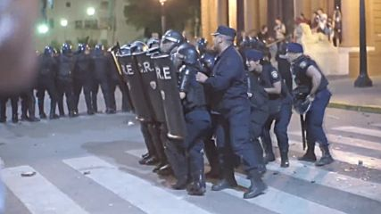 Argentina: Police clash with pro-choice protesters in Rosario
