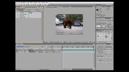Adobe After Effects - Използване на Зелен фон (bg Audio)
