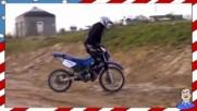 Караш, падаш, ставаш, но моторист завинаги оставаш ! ;d