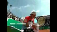 MS Rome 07 Federer Vs Volandri  Highlights